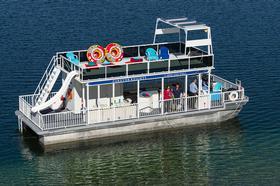 44' Patio Pontoon Boat 01