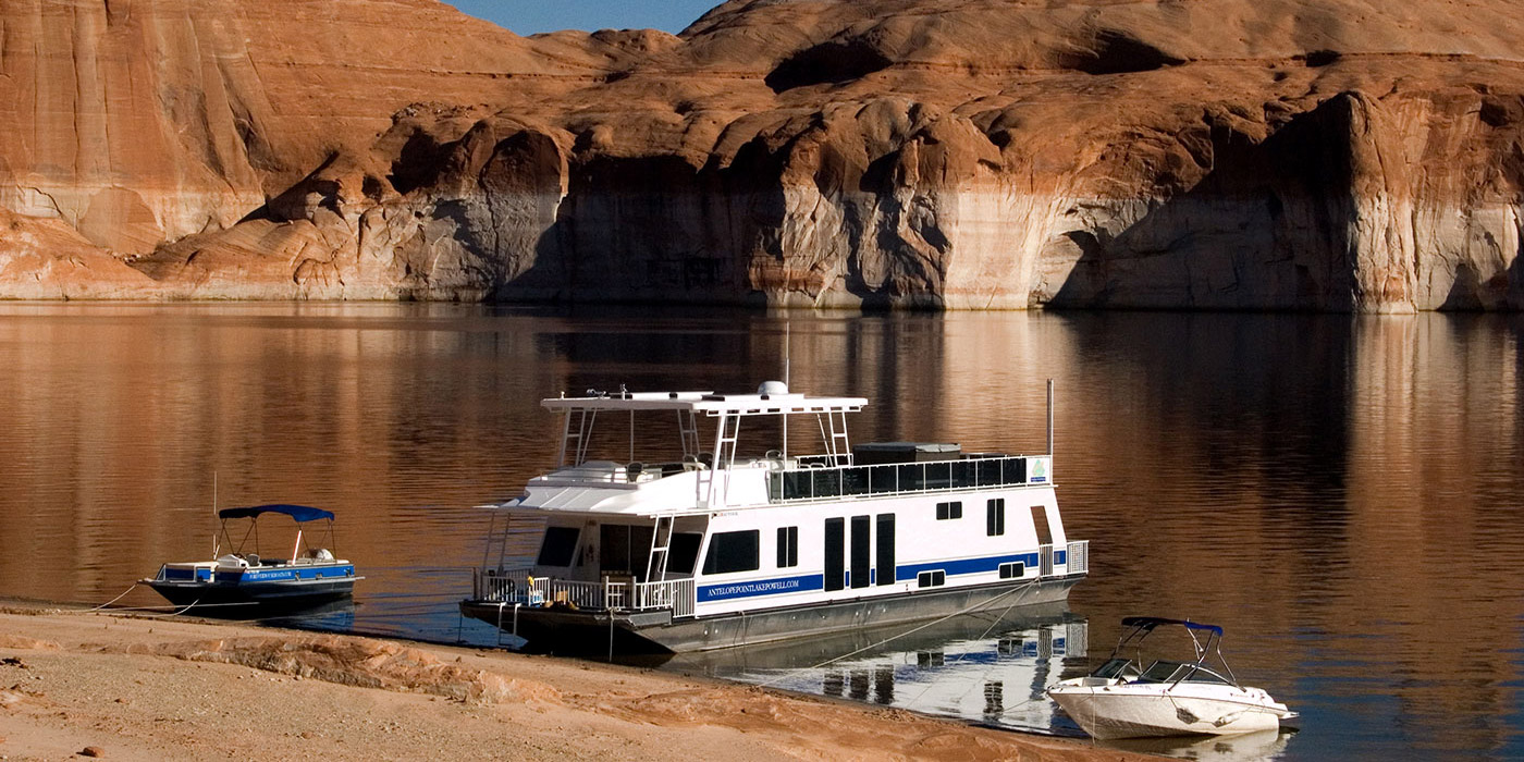 Boat rentals lake powell antelope point marina for Powell house