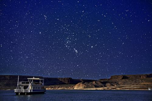 Stargazing At Lake Powell Blog Antelope Point Marina